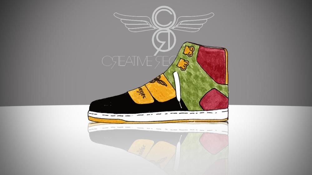 creative rec sneaker design